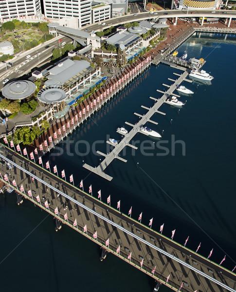 Pyrmont Bridge, Australia. Stock photo © iofoto
