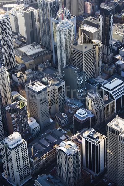 Sydney Australia edificios centro de la ciudad rascacielos Foto stock © iofoto