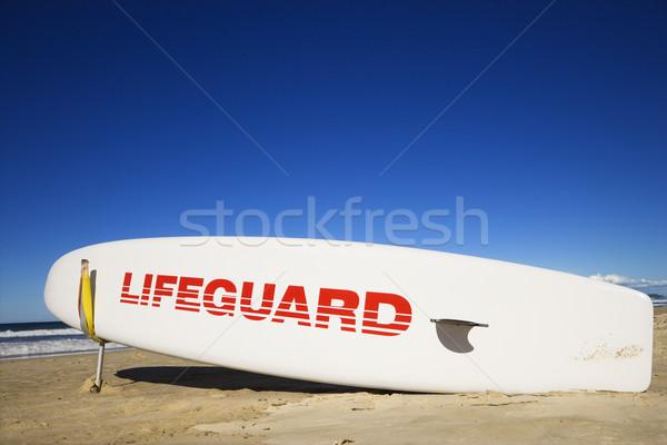 Bagnino tavola da surf spiaggia surfers paradiso Australia Foto d'archivio © iofoto