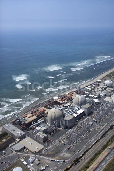 Usina nuclear Califórnia costa Foto stock © iofoto