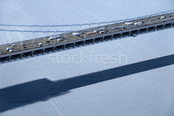 Triborough Bridge, NYC. Stock photo © iofoto