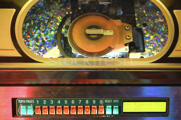 Close up of jukebox. Stock photo © iofoto