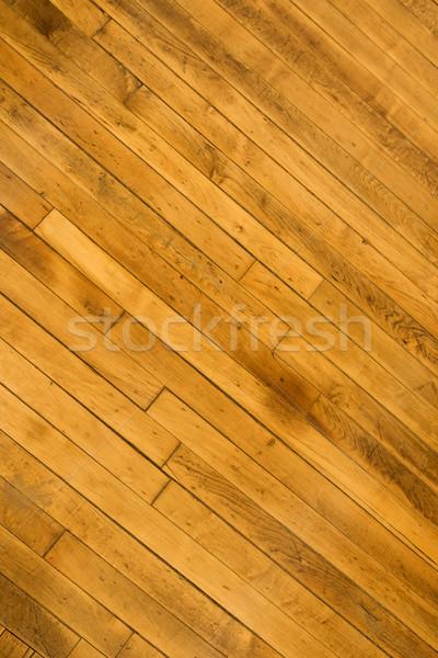 Keményfa padló közelkép ház textúra belső padló Stock fotó © iofoto
