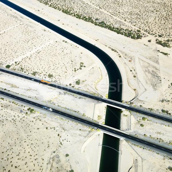 Interestadual 10 rodovia Colorado rio Foto stock © iofoto