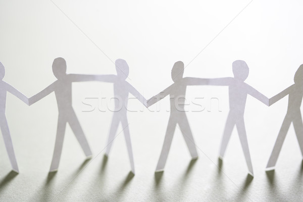 People joined together Stock photo © iofoto