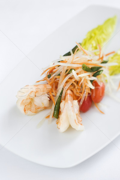 Gourmet Seafood Dish Stock photo © iofoto