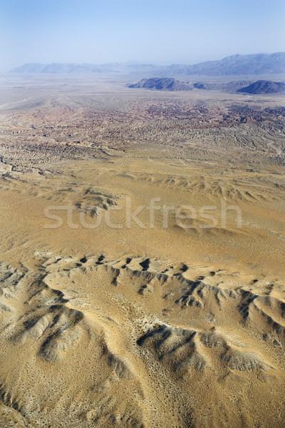 Desert with mountains. Stock photo © iofoto