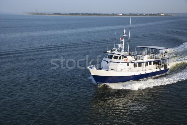 Passenger ferry boat. Stock photo © iofoto