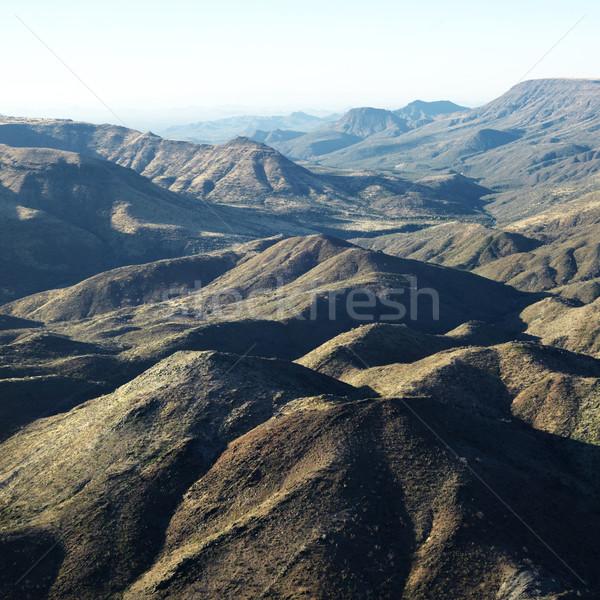 Berg Bereich Arizona Luftbild Landschaft Natur Stock foto © iofoto