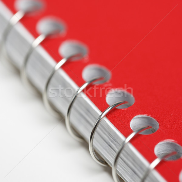 Spiral bound notebook. Stock photo © iofoto