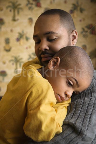 Сток-фото: любящий · отец · молодые · сын