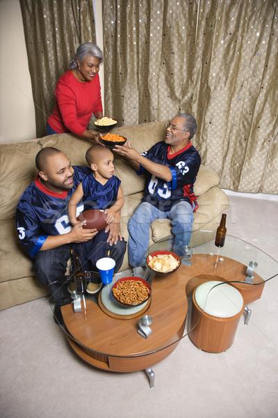 Family at home. Stock photo © iofoto