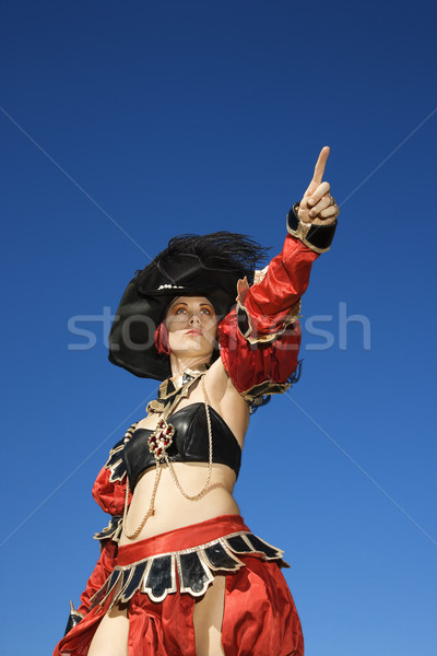 Pirate woman. Stock photo © iofoto