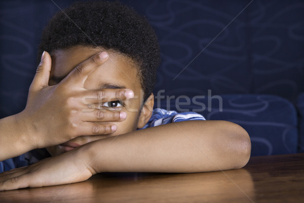 Stock photo: Portrait of Young Boy