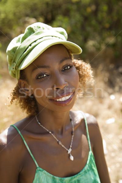 Kobieta cap kobiet Zdjęcia stock © iofoto