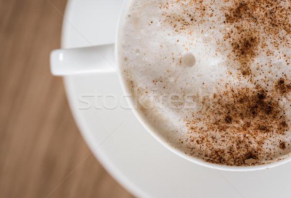 カップ コーヒー アップ リラックス 黒 ホット ストックフォト © Ionia