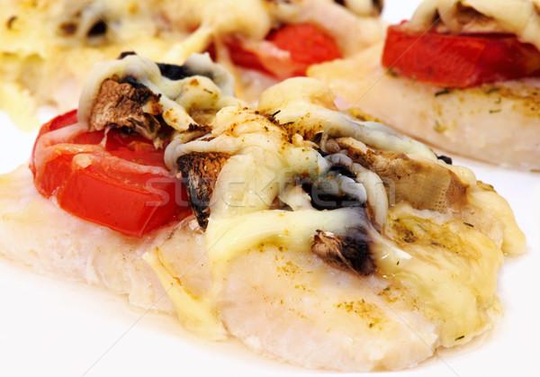 рыбы овощей помидоров продовольствие Сток-фото © Ionia