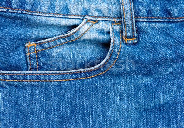 голубой джинсов текстуры моде аннотация синий Сток-фото © Ionia