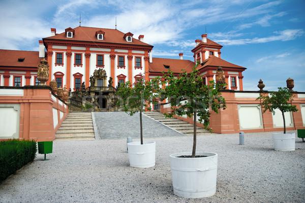 中世 プラハ チェコ共和国 城 アーキテクチャ ヨーロッパ ストックフォト © Ionia