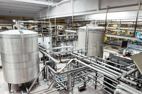 Interior of brewery equipment Stock photo © Ionia