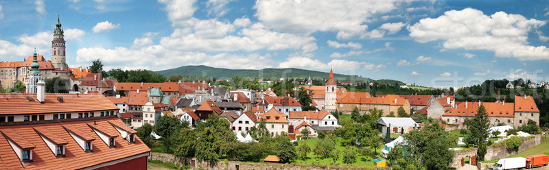 мнение Чешская республика дома город природы пейзаж Сток-фото © Ionia