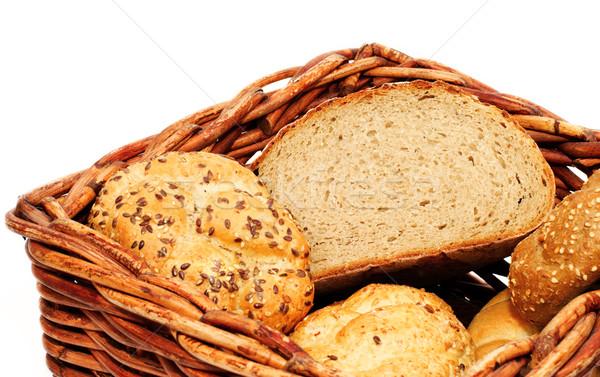свежие хлебобулочные продукции обеда завтрак студию Сток-фото © Ionia