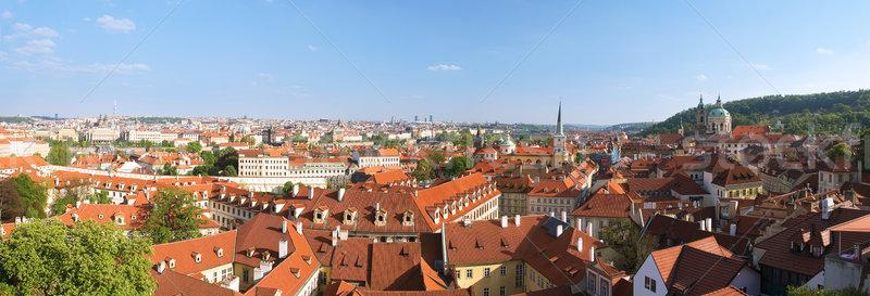 Görmek Prag bahar şehir sokak mimari Stok fotoğraf © Ionia