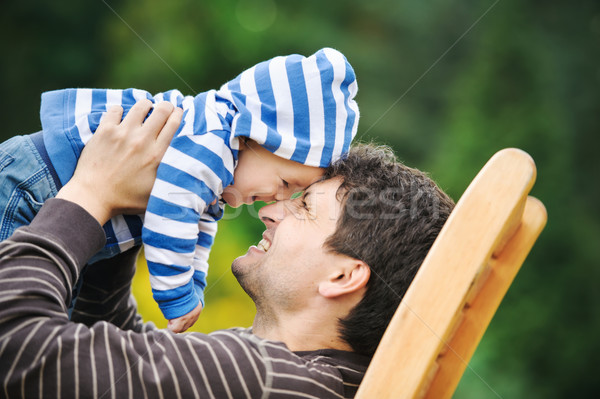 Father with his son Stock photo © Ionia