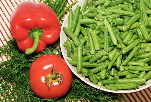 свежие овощи свежие различный овощей продовольствие природы Сток-фото © Ionia