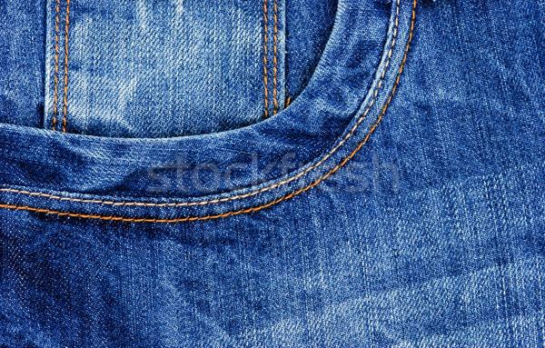 джинсов текстуры моде аннотация синий Сток-фото © Ionia