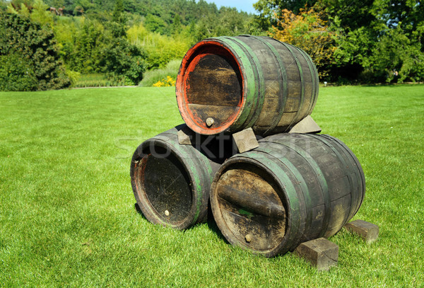 Wine Barrels Stock photo © Ionia