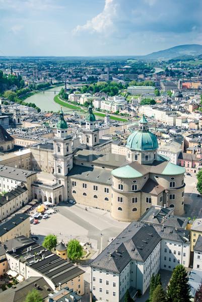 панорамный мнение Австрия музыку город солнце Сток-фото © Ionia
