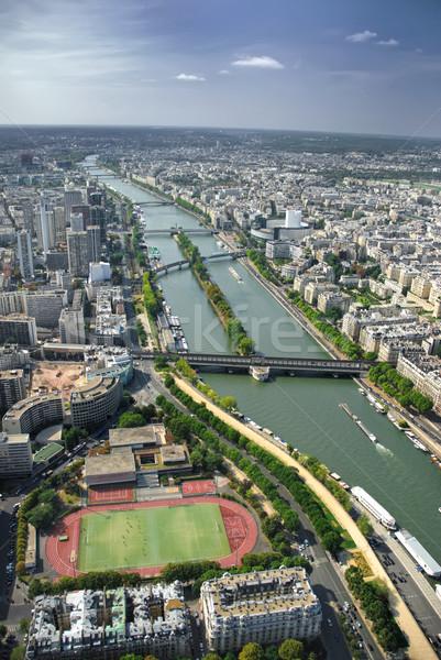 Париж Эйфелева башня Франция небе город Сток-фото © Ionia