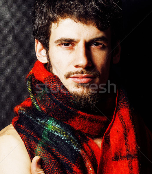 Ritratto bello maturo moderno barbuto Foto d'archivio © iordani