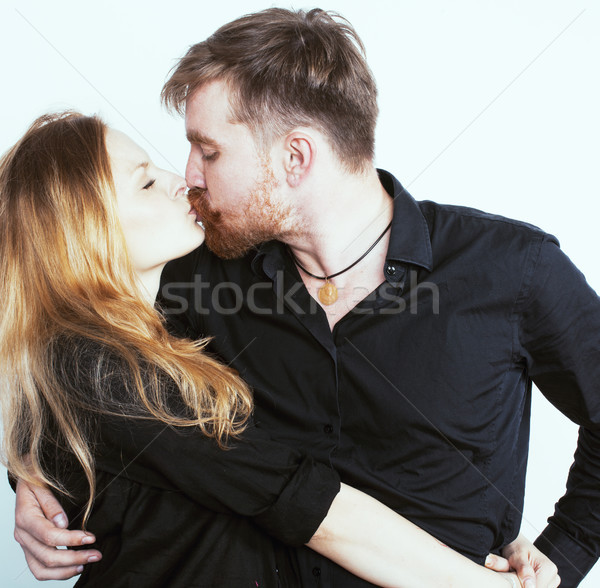 Giovani tenero Coppia uomo donna amore Foto d'archivio © iordani