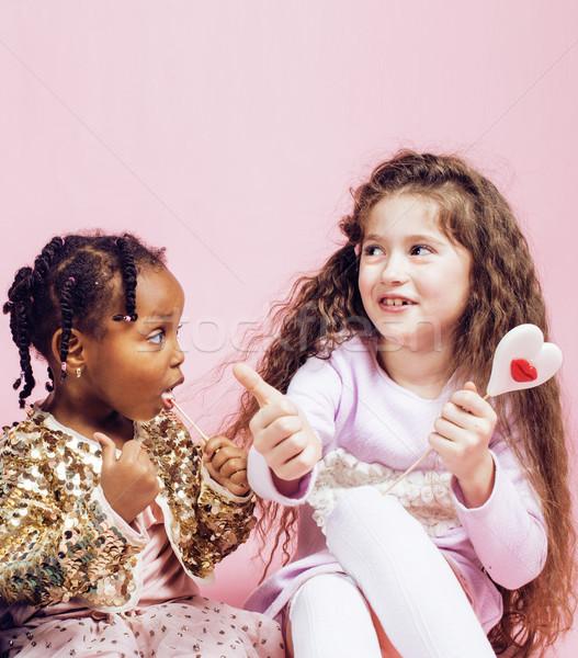 Zdjęcia stock: życia · ludzi · różnorodny · naród · dzieci · gry