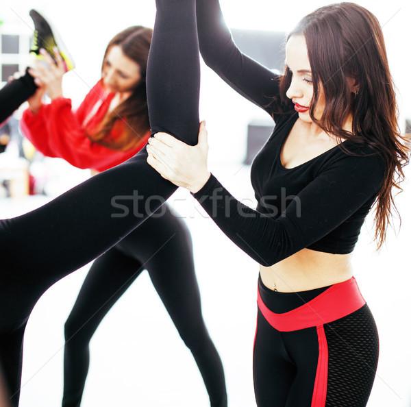 女性 スポーツ ジム ジャンプ 医療 ライフスタイル ストックフォト © iordani