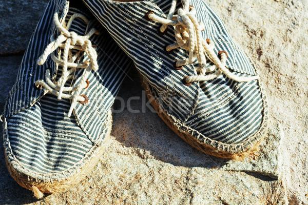 Resim bağbozumu eski gerçek Stok fotoğraf © iordani