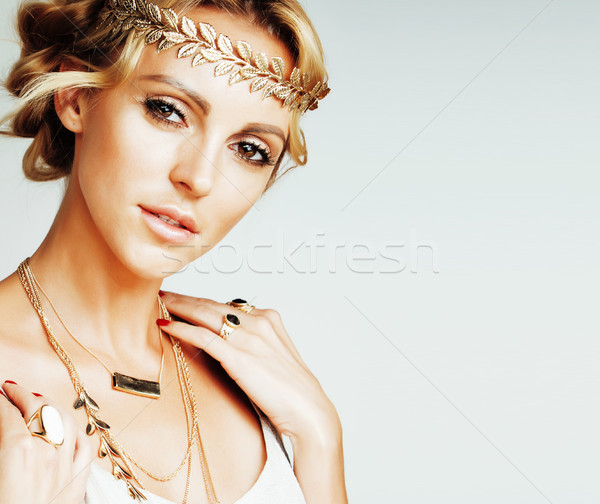Сток-фото: молодые · женщину · подобно · древних · греческий