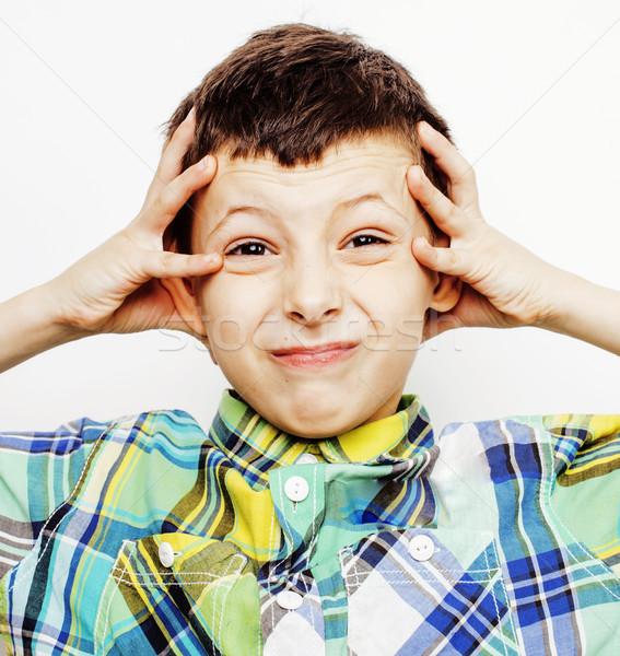 Jovem bastante pequeno bonitinho menino criança Foto stock © iordani