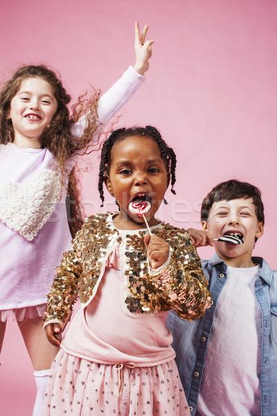 życia ludzi różnorodny naród dzieci gry Zdjęcia stock © iordani