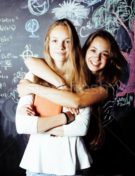 Terug naar school zomer twee teen echt Stockfoto © iordani