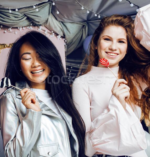 życia ludzi młodych dość różnorodności kobieta Zdjęcia stock © iordani