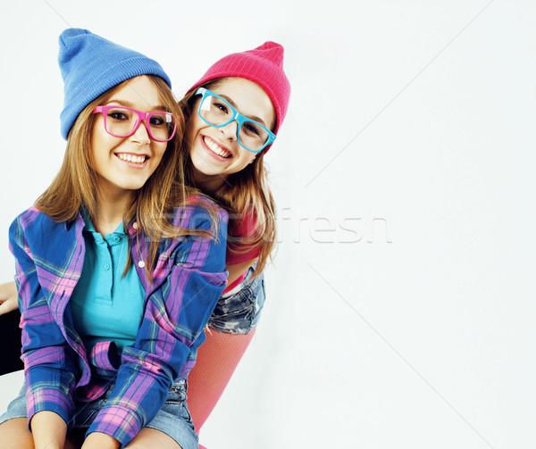życia ludzi dwa dość elegancki nowoczesne Zdjęcia stock © iordani