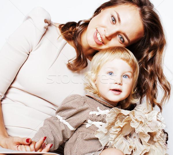 Сток-фото: довольно · реальный · моде · матери · Cute
