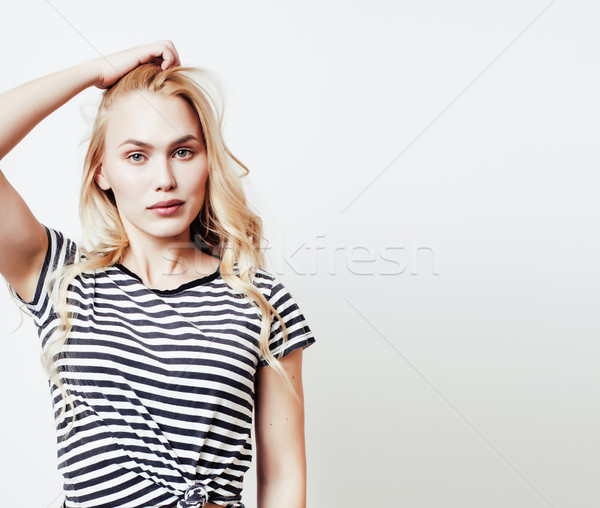 Сток-фото: молодые · довольно · портрет