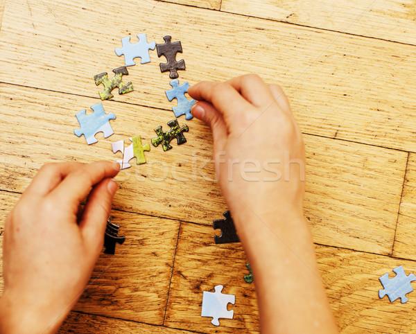 Peu kid jouer ensemble parent photo stock iun for To floor someone