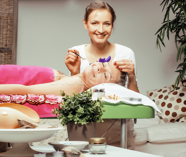 фото привлекательный Lady санаторно-курортное лечение салона Сток-фото © iordani