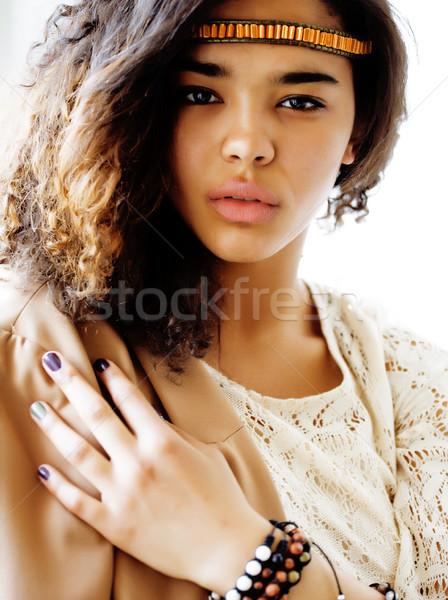 прелестный черный африканских подобно Сток-фото © iordani