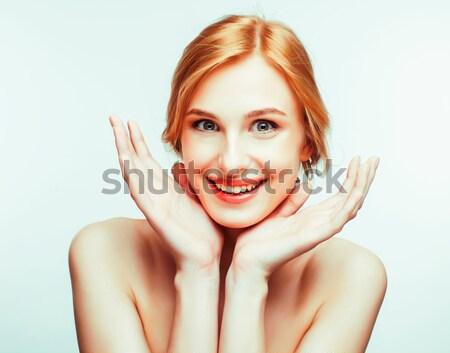 Spa Foto atractivo feliz sonriendo dama Foto stock © iordani